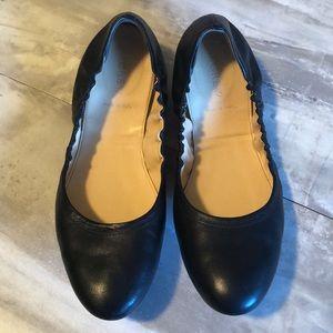 J.Crew Ballet Flats black size 10